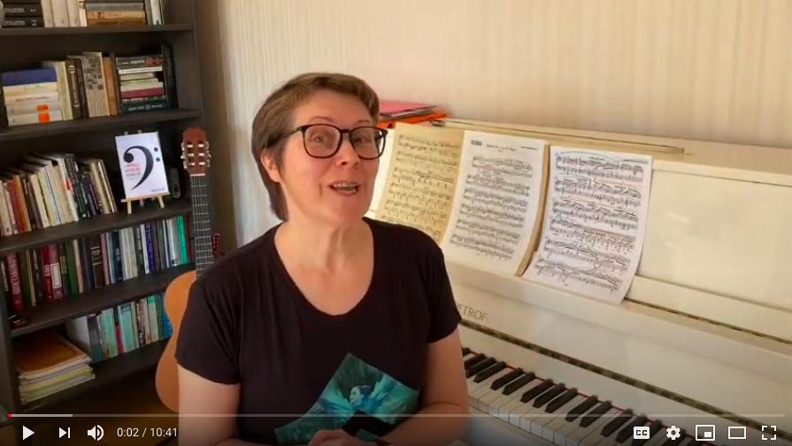 Le confinement et la pratique musicale