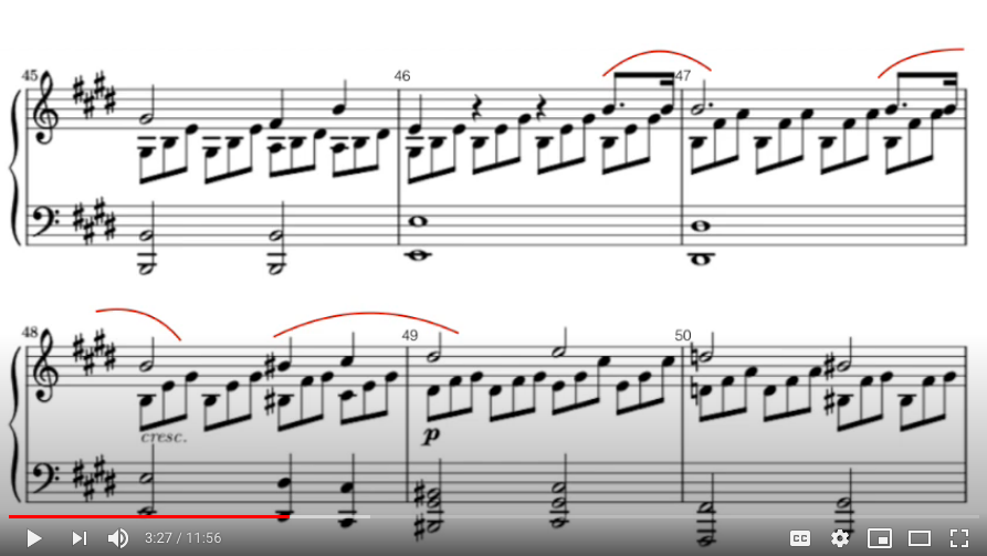 """(partie 2) Le piège à éviter quand on joue """"Clair de lune"""""""